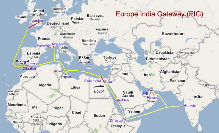 EIG Cable Route