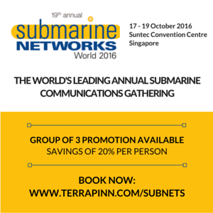 Submarine Networks World 2016