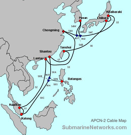 APCN-2 Submarine Cable System Overview - Submarine Networks
