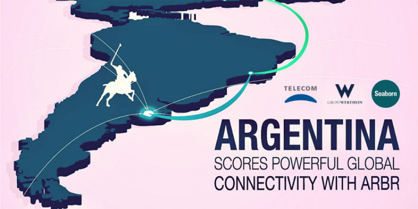 Argentina connectivity with ARBR cable