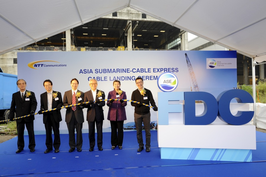 ASE Cable Landing Ceremony in HK