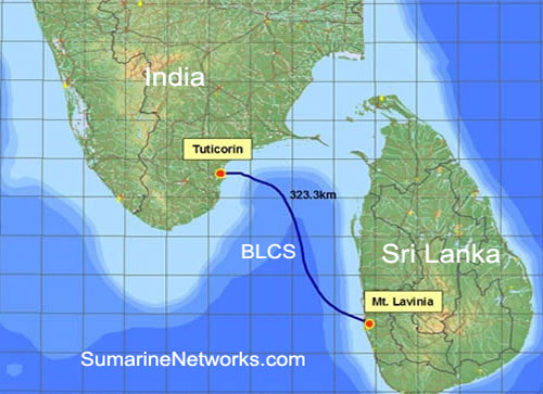 Bharat Lanka Cable Route
