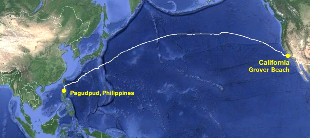 CAP-1 Cable Route