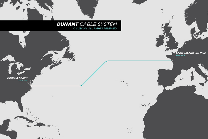 Dunant Cable Map