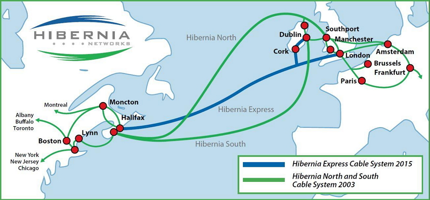 Hibernia Express - Submarine Networks