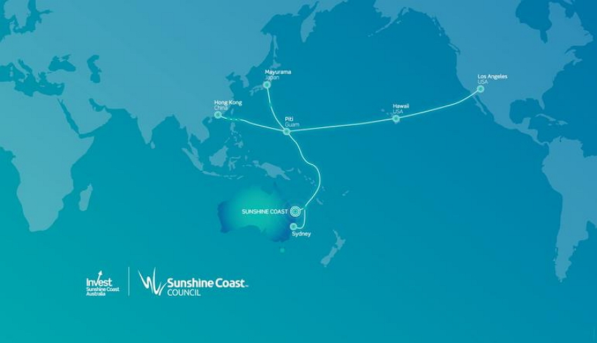 JGA Cable with branch to Sunshine Coast