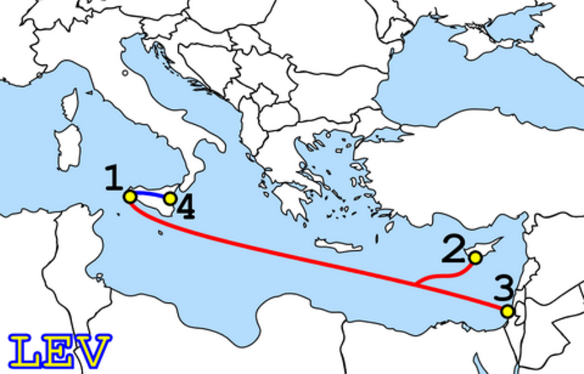 LEV cable route