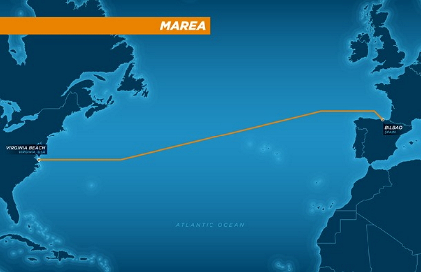 Marea Cable Map