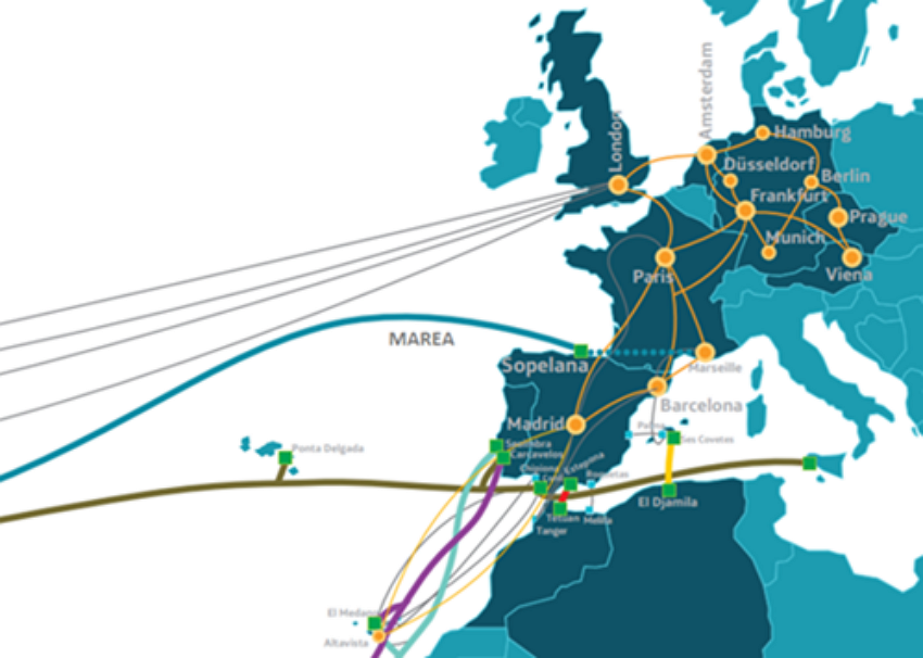Marea Cable Reaches Marseille