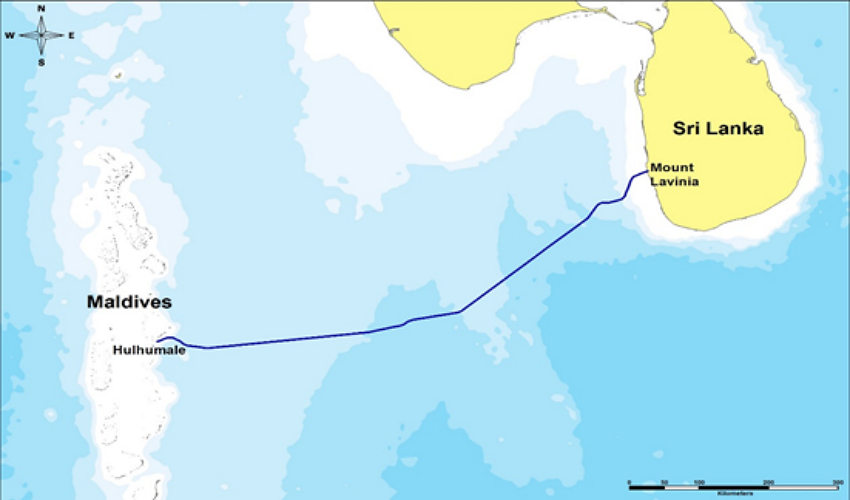 MSC cable route