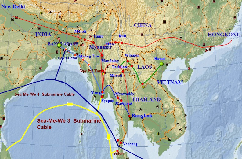 Myanmar International Cable Connectivity
