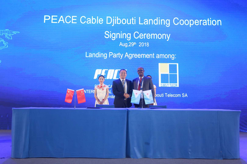PEACE Cable Djibouti landing party agreement with Djibouti Telecom