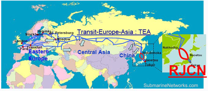 RJCN and TEA Cable Route