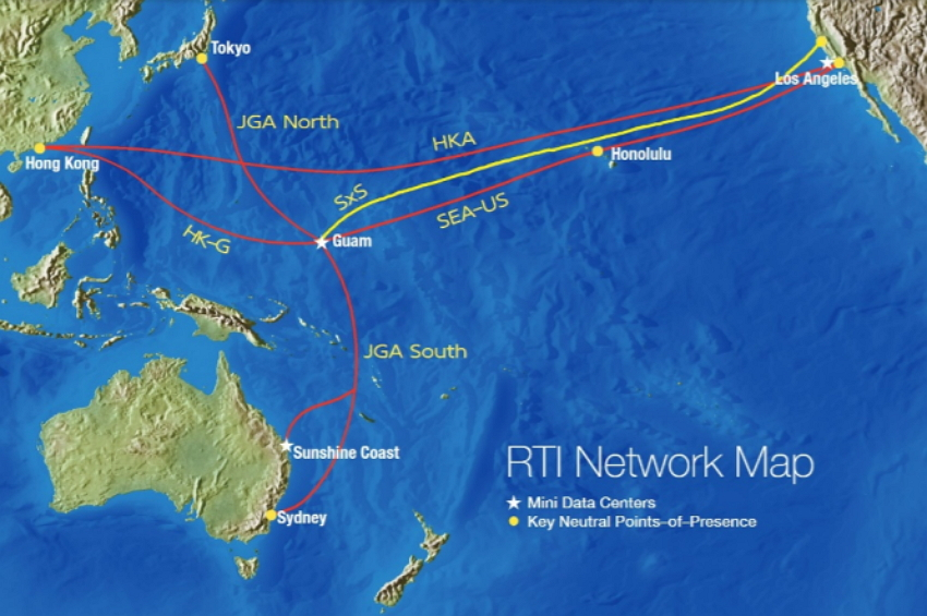 RTI Subsea Cable Network