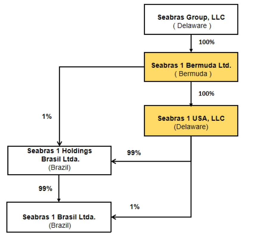 Seabras 1 Ownership Chart