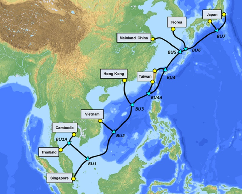 SJC2 Cable Map